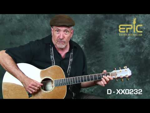 Classic country guitar lesson Hank Williams I'm So Lonesome I Could Cry chords & strum patterns