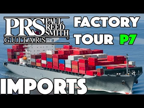 Are PRS SE Imports Any Good??? Factory Tour Part 7
