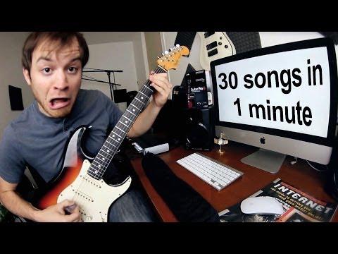 30 Songs in 1 Minute