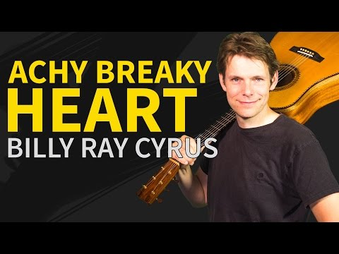 How To Play Achy Breaky Heart Guitar Lesson - Easy Guitar Tutorial