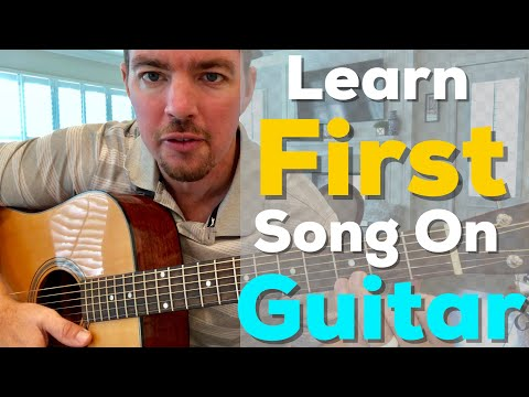 Learn Your First Song on Guitar | Keith Whitley | When You Say Nothing At All