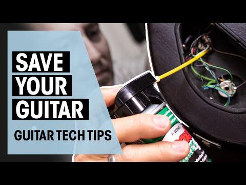 How to fix scratchy pots | Guitar Tech Tips | Ep. 14 | Thomann