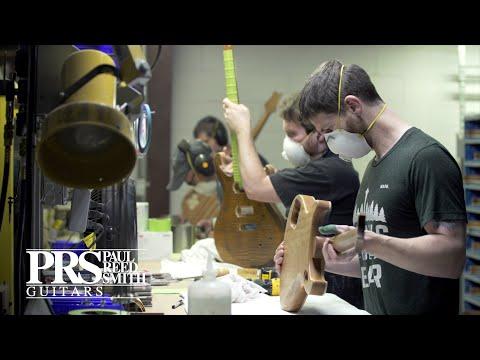 PRS Guitars USA Factory Tour: Stevensville, Maryland