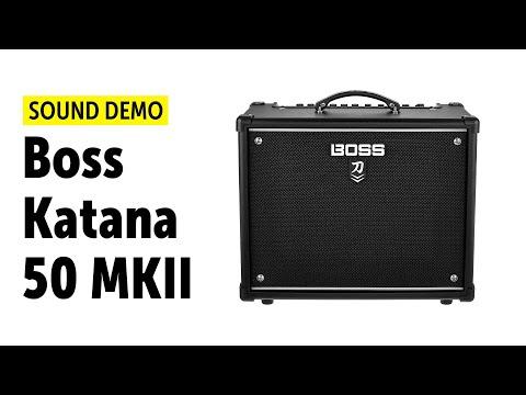 Boss Katana 50 MKII - Sound Demo (no talking)