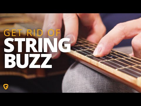How To Fix Annoying String Buzz On Your Guitar