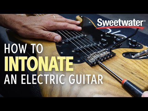 How to Intonate an Electric Guitar