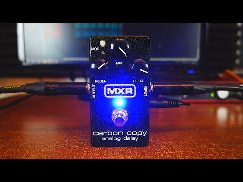 MXR Carbon Copy - 10 gorgeous analog delay sounds