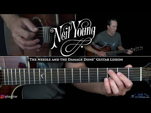 Neil Young - The Needle and the Damage Done Guitar Lesson