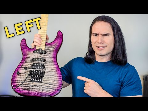 What's the deal with LEFT HANDED GUITARS?