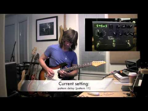 Strymon Timeline Delay, demo by Pete Thorn