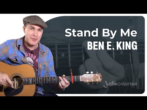 Stand By Me Easy Guitar Lesson | Ben E. King