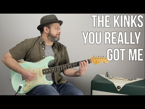 """The Kinks """"You Really Got Me"""" Guitar Lesson (Power Chords)"""