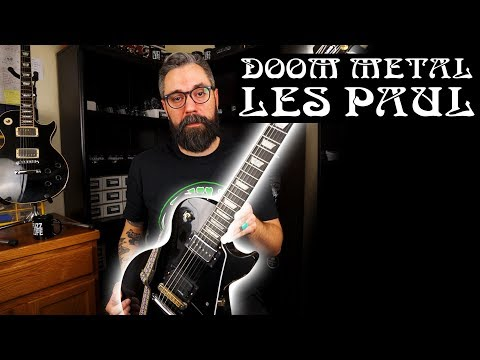 Doom Metal Guitars: Les Paul