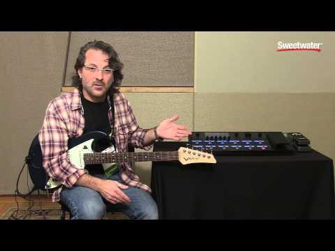Line 6 Helix Guitar Multi-effects Floor Processor Tone Demo