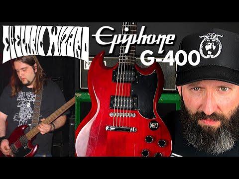 Doom Metal Guitars: The Electric Wizard Jus Oborn Epiphone G-400 MIK