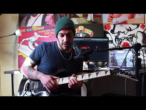 How to play 'Right Side Of The Bed' by Atreyu Guitar Solo Lesson w/tabs