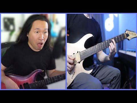 Playing Guitar with HERMAN LI of DRAGONFORCE?!