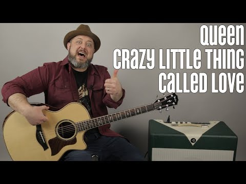 Queen - Crazy Little Thing Called Love - Guitar Lesson