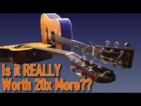 $140 vs. $3,000 Acoustic Guitar // Martin HD-28 & Epiphone DR-100