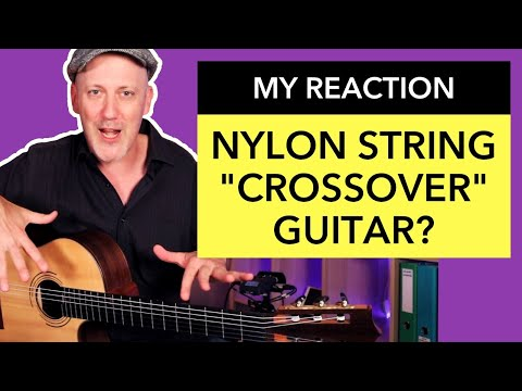 My Reaction to the Nylon String Crossover Guitar by Daniel Zucali (as a Steel String Player)