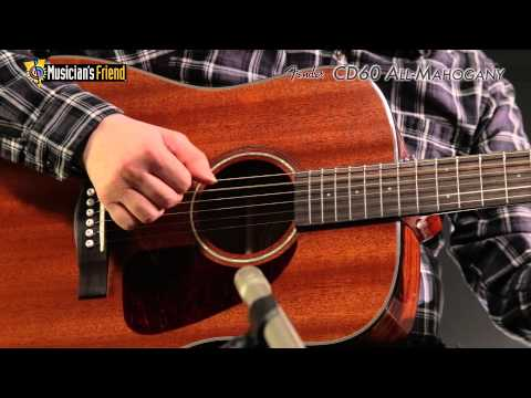 Fender CD60 All-Mahogany Acoustic Guitar