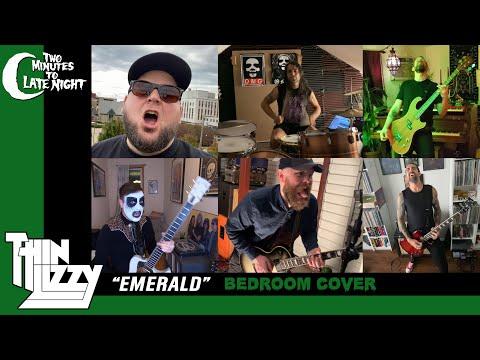 "Spirit Adrift + High On Fire + Pallbearer + Old Man Gloom cover Thin Lizzy's ""Emerald"""