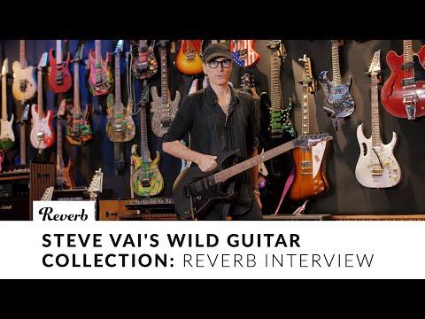 Steve Vai's Wild Guitar Collection   Interview