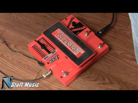 DigiTech Whammy DT Pedal with Drop Tuning and True Bypass