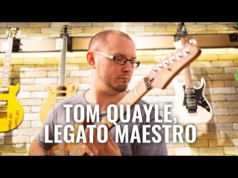 Why Tom Quayle uses all 4ths tuning for his fusion style | Guitar.com