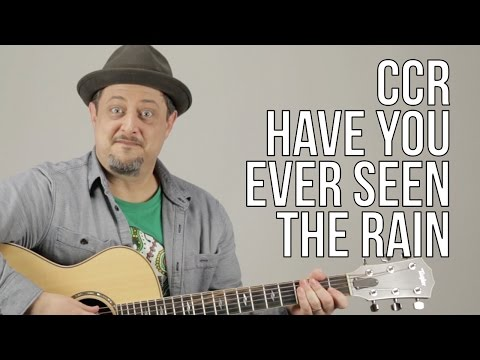 Creedence Clearwater Revival Have You Ever Seen The Rain Guitar Lesson + Tutorial