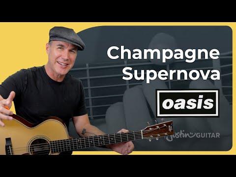 Champagne Supernova Guitar Lesson | Oasis