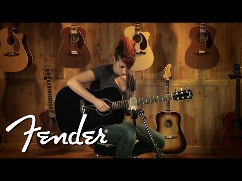 Fender Acoustic CD-60 Demo   Fender
