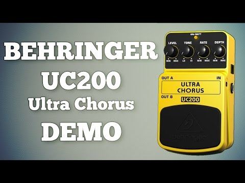 Behringer UC200 Ultra Chorus Demo