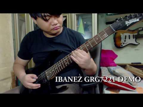 My First 7 String Guitar ( Ibanez GRG7221 Demo )