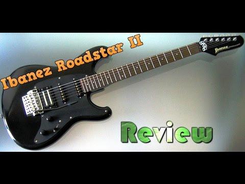 Ibanez Roadstar II 1980's Rock Guitar Review
