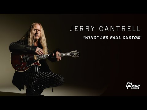"""Jerry Cantrell """"Wino"""" Les Paul Custom"""
