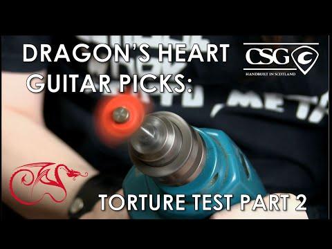 Dragon's Heart Guitar Picks: Torture Test Part 2