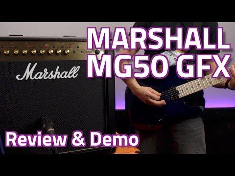 Marshall MG50 GFX Combo - Review & Demo