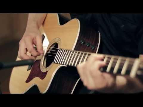 Taylor 214ce Deluxe Grand Auditorium Cutaway Acoustic Guitar Demo