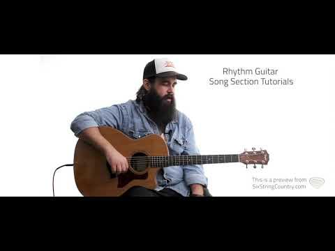 Whiskey River Guitar Lesson - Willie Nelson