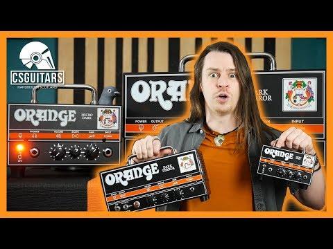 Dark Terror vs Micro Dark   Orange Amp Shootout