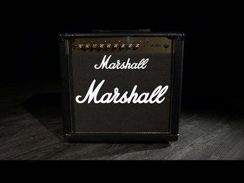 Marshall MG50GFX Gold 50W Guitar Combo | Gear4music demo