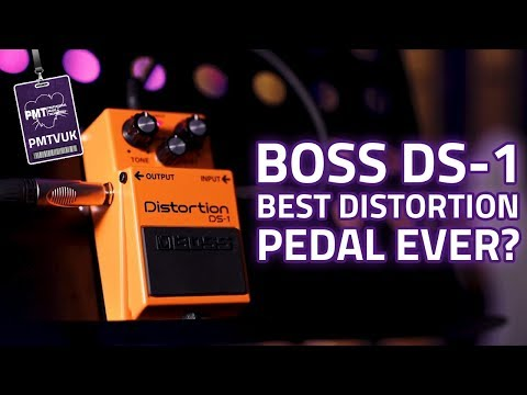Is the Boss DS-1 The Best Distortion Pedal Ever? Boss DS-1 Demo & Review