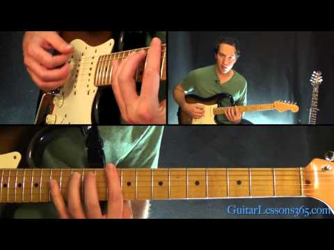 We Are The Champions Guitar Lesson Pt.1 - Queen