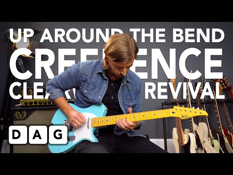 3 CHORDS and Simple SOLO - Learn UP AROUND THE BEND by Creedence Clearwater Revival (guitar lesson)