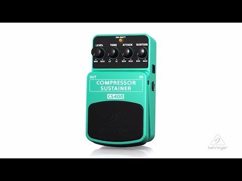 CS400 | Compressor/Sustainer Pedal
