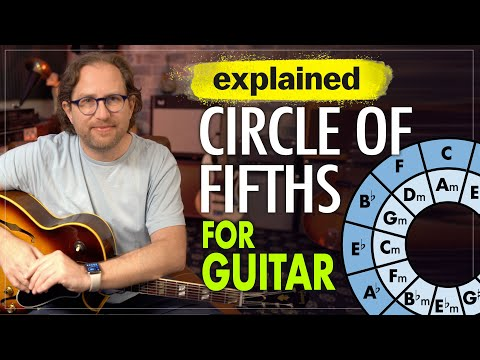 Circle of Fifths Explained (For Guitar) - How to actually USE the Circle of 5ths guitar lesson