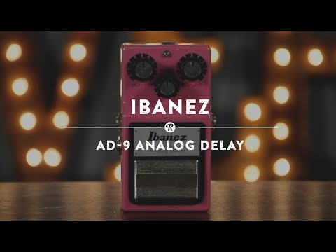 Ibanez AD-9 Analog Delay   Reverb Demo Video