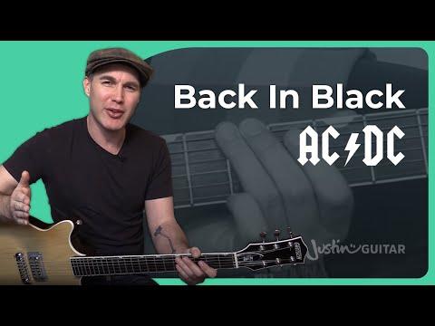 Back In Black Guitar Lesson | AC/DC