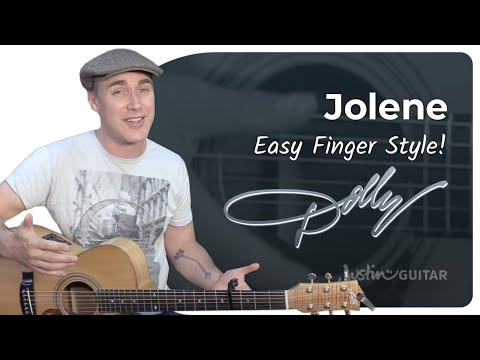 How to play Jolene by Dolly Parton - Guitar Lesson Tutorial Country Fingerstyle Strumming Beginner